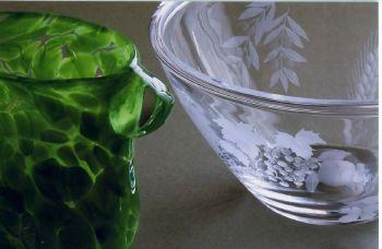 終了いたしました。6/12~6/18二人展 河合祥子・樋口真理「魅せられた色ガラス」
