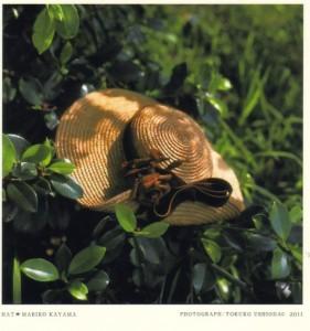 終了いたしました。6/4~6/10香山まり子「帽子」ー布の彫刻