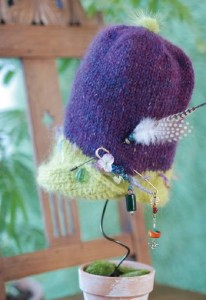 終了いたしました。「黒田真琴のニット帽子展」2012年1月11日(水)縲鰀20日(金)
