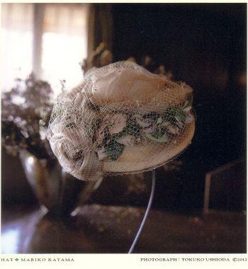 終了いたしました。香山まり子帽子展 イースターハット2012 「布の彫刻」3月24日~4月2日