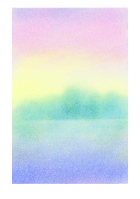 5/7銀座三越・母の日イベント★3原色で描くパステル画ポストカードワークショップ