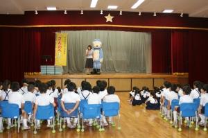 ねこさん、泰明小学校に現る