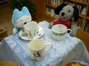 お茶会にはホフマンのマグカップ