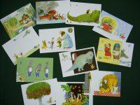 降矢なな絵本原画展 特製ポストカード12種類とミニレター