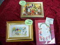 【クリスマス2020】ポストカードミニ額、絵の種類が増えました!
